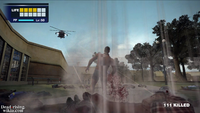 Dead rising overtime mode helicopter shooting
