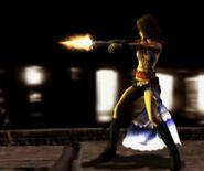 Yuna gunfiring
