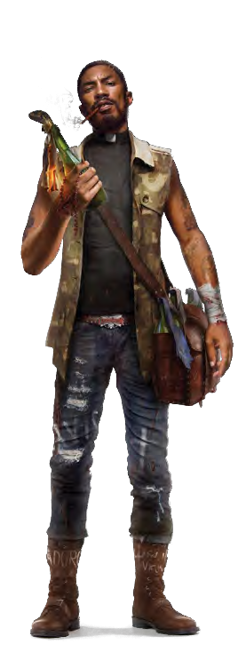 Dead Island Characters Ryder