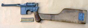 Mauser C96 M1916 Red 9 7