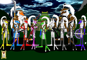 Samurai Shadows of Sengoku 1 - Oni-Dragons