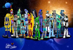 TriStar Galactic Rangers 01 - Solar System Team