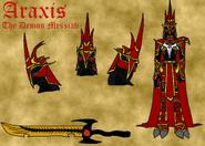 Araxis the Demon Messiah Sheet