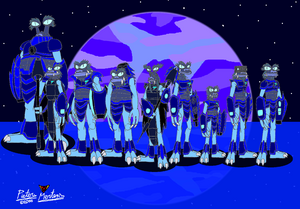 TriStar Galactic Rangers 02 - The Blue Wirlworms