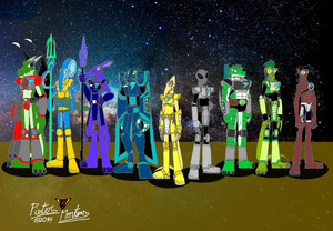 TriStar Galactic Rangers 03 - The Sedna Squad