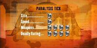 Paralysis Tick