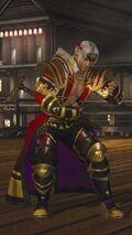 DOA5LR Samurai Warriors Costume Brad Wong
