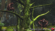 DOA5LR - Primal - Monkeys - screen by AdamCray and AgnessAngel