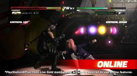 DEAD OR ALIVE 5 Last Round - Core Fighters Trailer