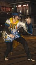 DOA5LR Samurai Warriors Costume Eliot