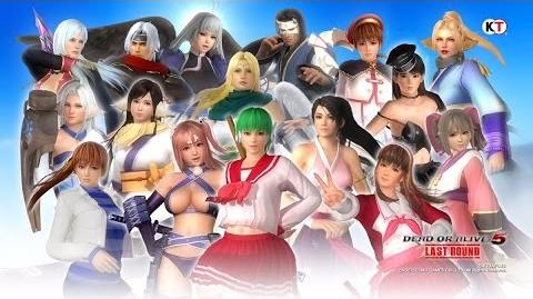 Dead or Alive 5 Last Round - AQUAPLUS Mashup Set
