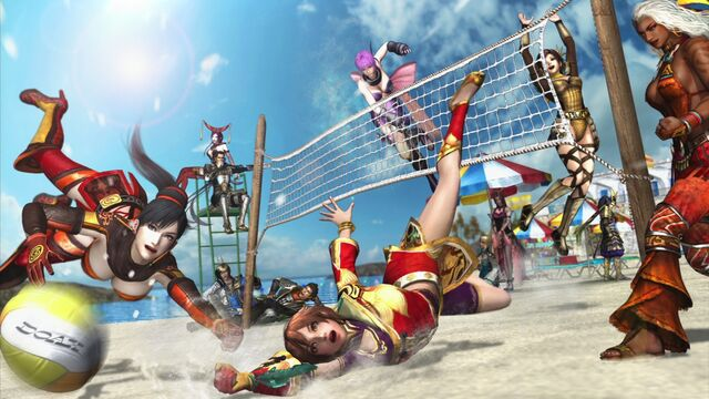 File:Warriors Orochi 3 - Xtreme Volleyball Wallpaper.jpg