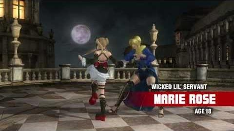 Dead or Alive 5 Ultimate Marie Rose Console Debut Trailer