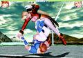 DOA2 Kasumi Helena Kick