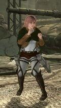 Honoka Attack on Titan Mashup