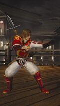 DOA5LR Samurai Warriors Costume Hayate