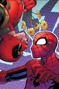 Spider-Man Deadpool Vol 1 2 Marquez Variant Textless