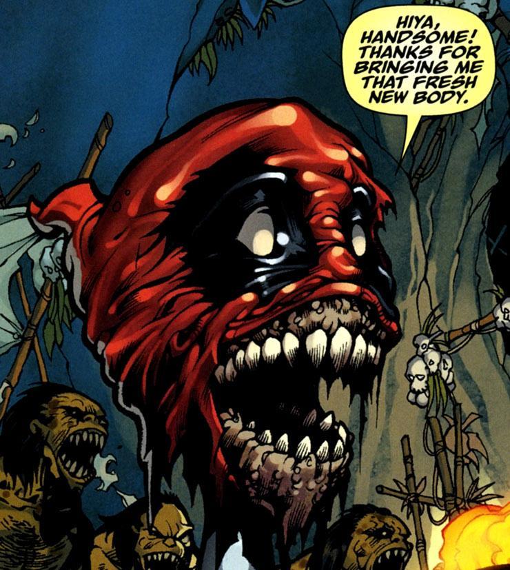 Ultimate Green Goblin Marvel Headpool | Deadpool Wi...