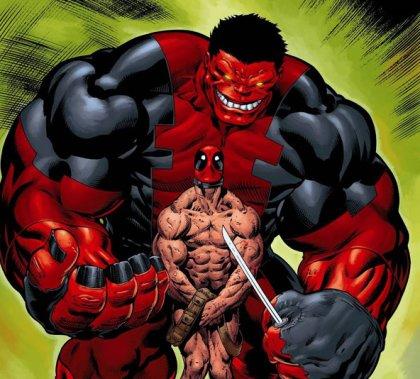 Red Hulk vs Deadpool by Ed Mcguinness | Superhero comic