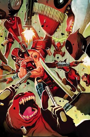 Evil Deadpool Corps