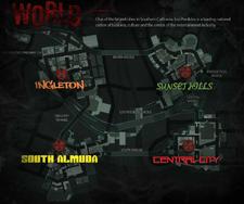 Dead Rising 3 World Map