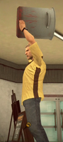 Dead rising case 0 cooking pot strong attack