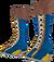 Dead rising Pro Wrestling Boots