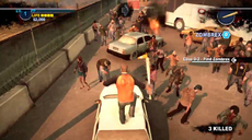 Dead rising 2 Case 0 quarantine zone jumping from vehicles