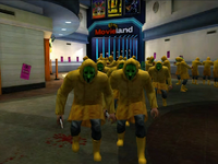 Dead rising cult with jennnifer in background