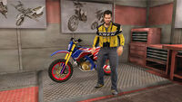 Dead rising frank with Chuck Greene's Motorcyle Jacket