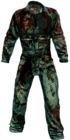 Dead rising Blue Grey Work Overalls