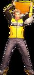 Dead rising yellow tall chair alternate