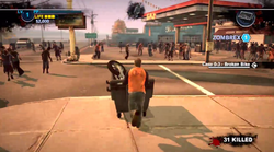 Dead rising 2 Case case 0-3 utility cart pushing 09