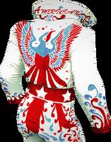 Dead rising American Showman Jumpsuit 2 back