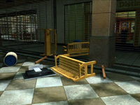 Dead rising weapons for beginning entrance mall