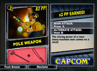 Dead rising 2 combo card Pole Weapon