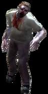 Dead rising zombietan shirt black pants