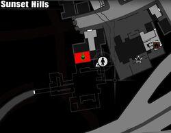 American Satchel's location (Sunset Hill)