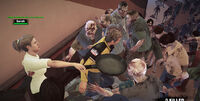 Dead rising infinity mode battling sarah (3)