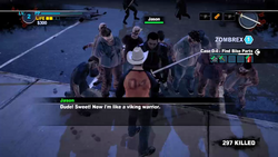 Dead rising 2 case 0 Handle with care broadsword have (3)