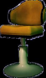 Dead rising Yellow Tall Chair