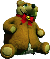 Dead rising Robot Bear damaged