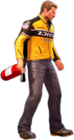 Dead rising fire extinguisher holding