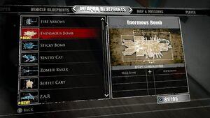 Enormous Bomb Blueprints