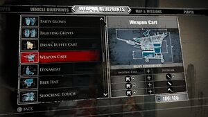 Weapon Cart Blueprints