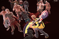 Dead rising Electric Guitar (Dead Rising 2) primary attack