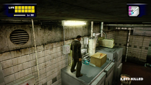 Dead rising meat packing safe spot