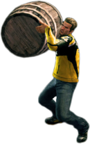 Dead rising large barrel main