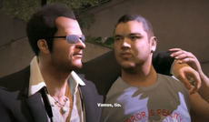 Dead rising 2 off the record introduction Skylar Ali helping frank into safe house
