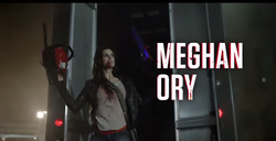 Megan Ory title card